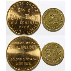 Two Replica Nevada Tokens  (101991)