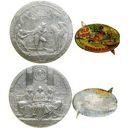 Hudson Fulton Celebration Medal /Old Tavern Token  (100392)