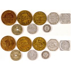 New York & Pennsylvania Tokens  (101209)