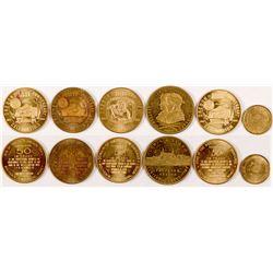 Lewis & Clark Exposition/ Oregon Centennial  Medals  (101162)