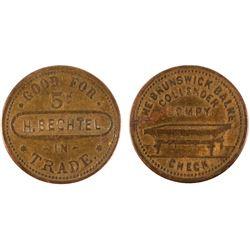 Brunswick-Balke-Collender Token  (101961)