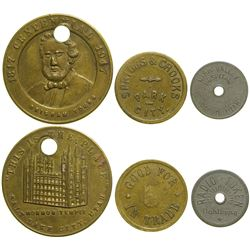 Three Utah Tokens  (90374)