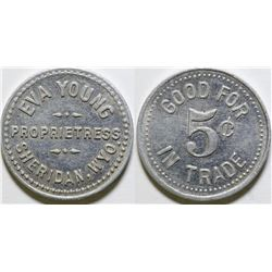 Eva Young Brothel Token  (101860)