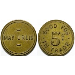May Urlin Brothel Token  (101861)