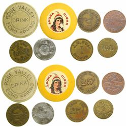 Arizona and Maverick Tokens  (89238)