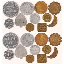 Eleven Tokens of All Shapes and Sizes  (100504)