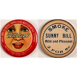 Smoke Sunny Bill Advertising Mirror  (100346)