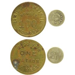 Two Southern Tokens  (100545)