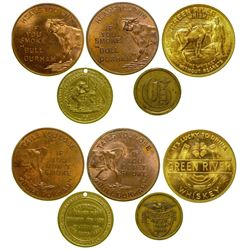 Whiskey/Tobacco Tokens  (89067)