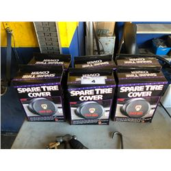 6 SPARE TIRE COVERS