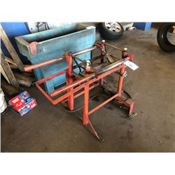 METAL TIRE CHANGING/ROLL SYSTEM