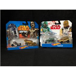 HOT WHEELS STAR WARS TOY CAR LOT (BRAND NEW) *RARE*