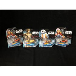 HOT WHEELS STAR WARS TOY CHARACTER CAR LOT (BRAND NEW) *RARE*