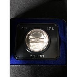 Canada 1873-1973 PEI Centennial One Dollar Coin - Queen Elizabeth II