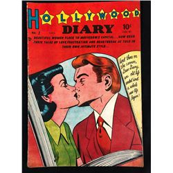 HOLLYWOOD DIARY #1 GOLDEN AGE ROMANCE (1949)