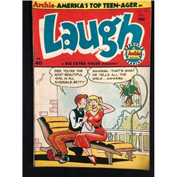 LAUGH #40 (ARCHIE SERIES COMICS)