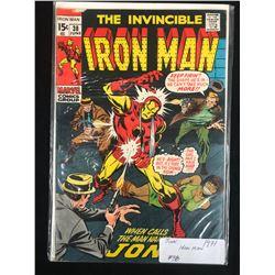 1971 IRON MAN #38 (MARVEL COMICS)