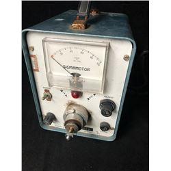 GEPlastics Sigmamotor Metering Pump Kinetic Clamp Model AL-4E 120VAC 60CYC 1 AMP