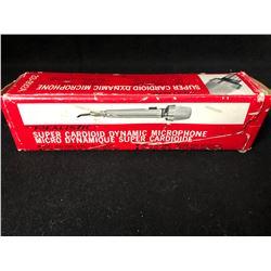 REALISTIC SUPER CARDIOD DYNAMIC MICROPHONE (33-992A)
