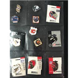 NHL HOCKEY PINS LOT