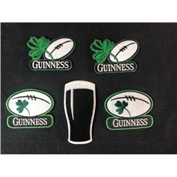 GUINESS EMBROIDERED PATCH LOT