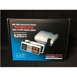 MINI GAME ANNIVERSARY EDITION ENTERTAINMENT SYSTEM (BUILT IN 620 CLASSIC GAMES)