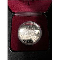 1587-1987 Detroit de Davis Strait Silver Dollar Canada