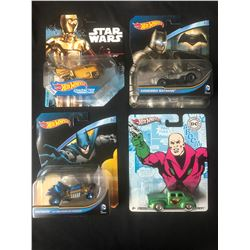 HOT WHEELS CHARACTER CAR LOT (BRAND NEW)