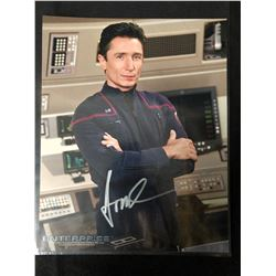 AUTOGRAPHED 8 X 10 STAR TREK ENTERPRISE WITH COA