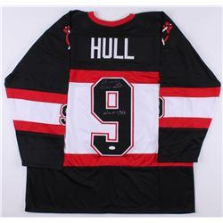 "Bobby Hull Signed Chicago Blackhawks Jersey Inscribed ""HOF 1983"" (JSA COA)"