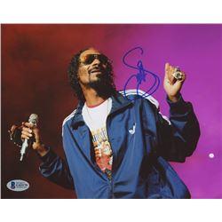 Snoop Dogg Signed 8x10 Photo (Beckett COA)
