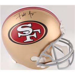 Frank Gore Signed 49ers Full-Size Helmet (JSA COA)