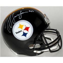 JuJu Smith-Schuster Signed Steelers Full-Size Helmet (TSE COA)