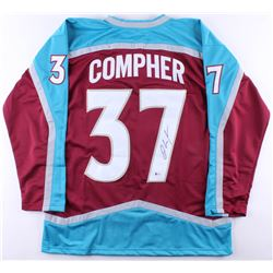 J.T. Compher Signed Avalanche Jersey (Beckett COA) *Framing Jersey*