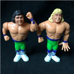 """The Rockers"" Shawn Michaels And Marty Jannetty WWF Hasbro Series 2 Action Figures"
