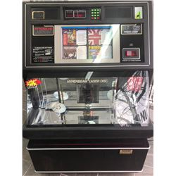 Hyper Beam Laserdisc Jukebox (WORKING)