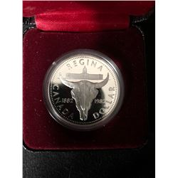 1882-1982 Royal Canadian Mint Proof Regina Canada Dollar Queen Elizabeth II