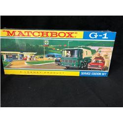 VINTAGE MATCHBOX G1 SERVICE STATION