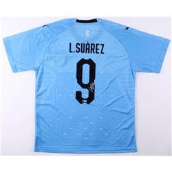 Luis Suarez Signed Uruguay Puma Jersey (Beckett COA)