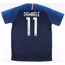 Ousmane Dembele Signed France National Nike Jersey (Beckett COA)