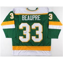 Don Beaupre Signed Minnesota North Stars Jersey (JSA COA)