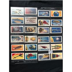 """MUSGRAVE BROTHERS """"INTO SPACE"""" FULL CARD SET"""