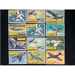 1957 TOPPS PLANES TRADING CARDS