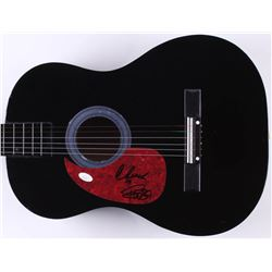 "Tommy Chong & Cheech Marin Signed 38"" Acoustic Guitar (JSA COA)"