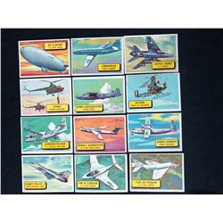 "TOPPS CHEWING GUM ""PLANES OF THE WORLD"" TRADING CARDS"