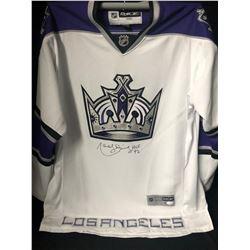 MARCEL DIONNE SIGNED LOS ANGELES KINGS HOCKEY JERSEY( JSA COA)