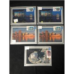EXPO 86 POSTCARD/ STAMPS LOT