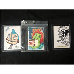 SKETCH CARDS INSERTS LOT