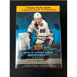 2018-19 UPPER DECK Hockey Series 2 Trading Cards Blaster Box