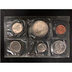 1969 CANADIAN 6 PIECE COIN SET